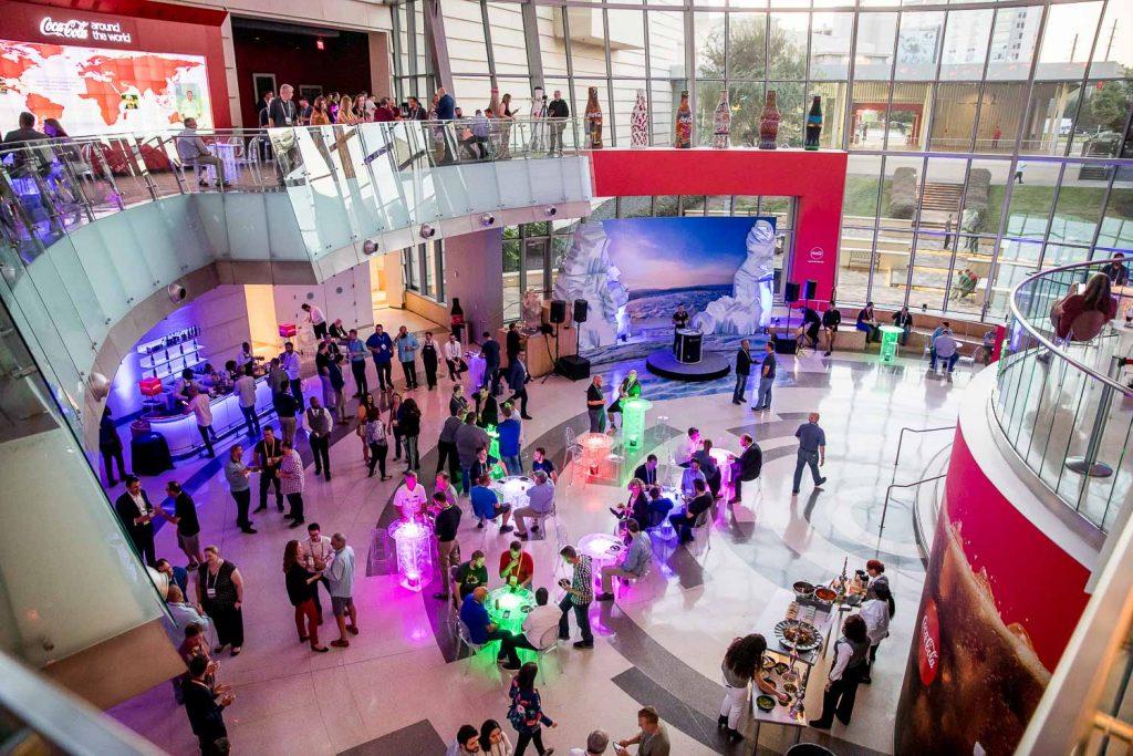 World of Coca Cola Atlanta Corporate Event Photography