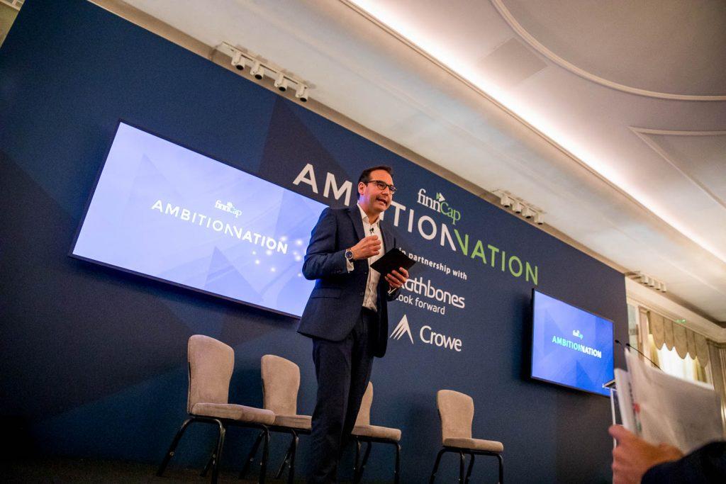 Claridges Event Photographer Mayfair - finnCap Ambition Nation