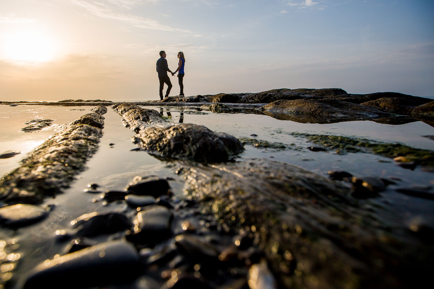 Westward Ho Engagement Photography