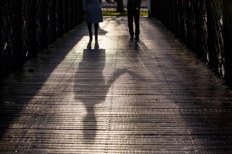Best London Wedding Photographer Regents Park Engagement Shoot