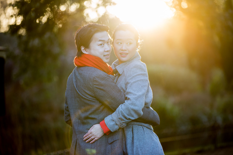 Chinese Wedding Photographer London Regents Park Engagement Shoot