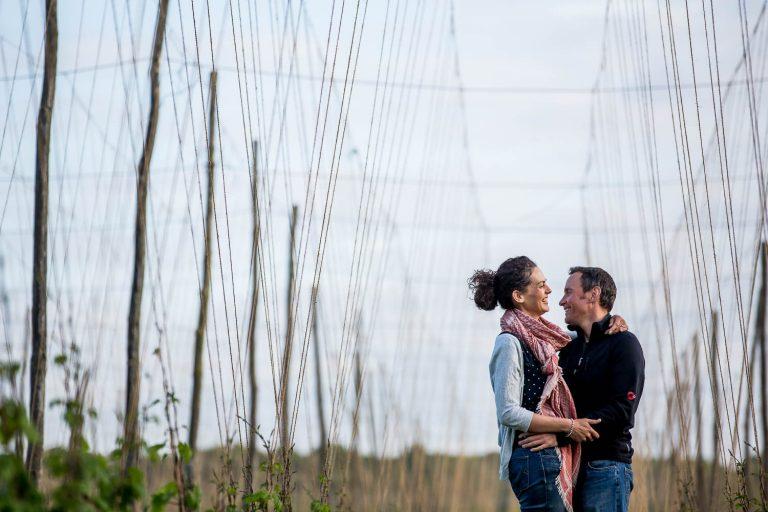 Tunbridge Wells Kent Countryside Engagement Photography