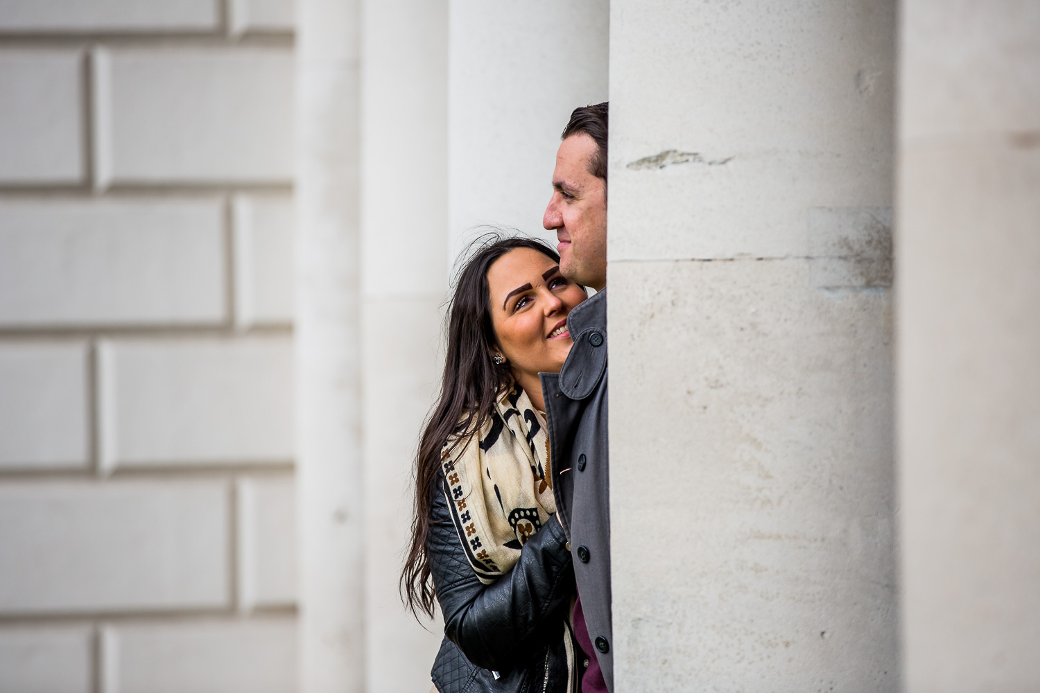 Greenwich Engagement Photographer