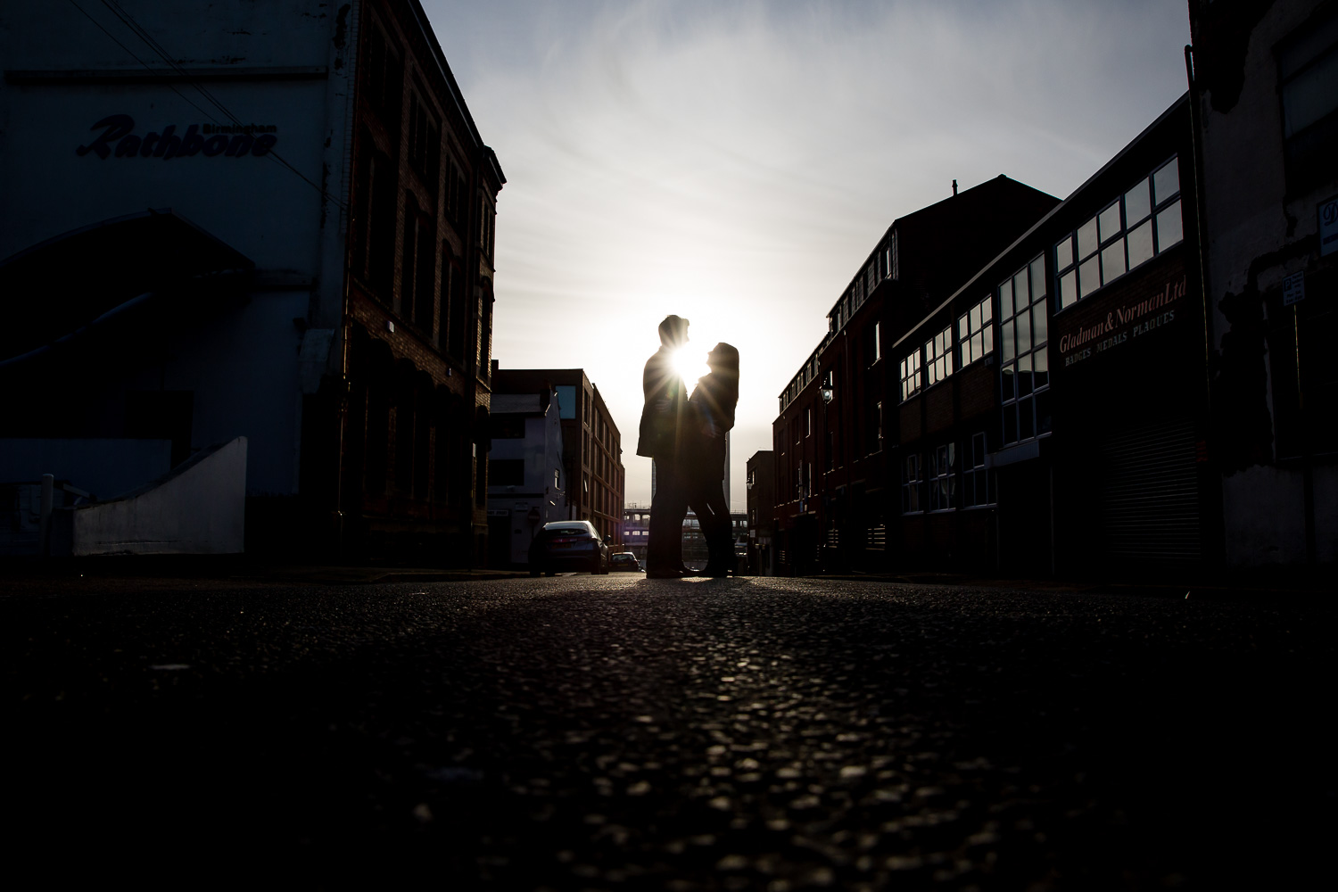 Birmingham Jewellery Quarter Engagement Photographer