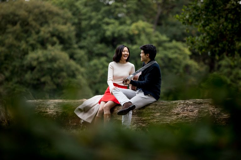 London Chinese Pre Wedding Photography Richmond Park