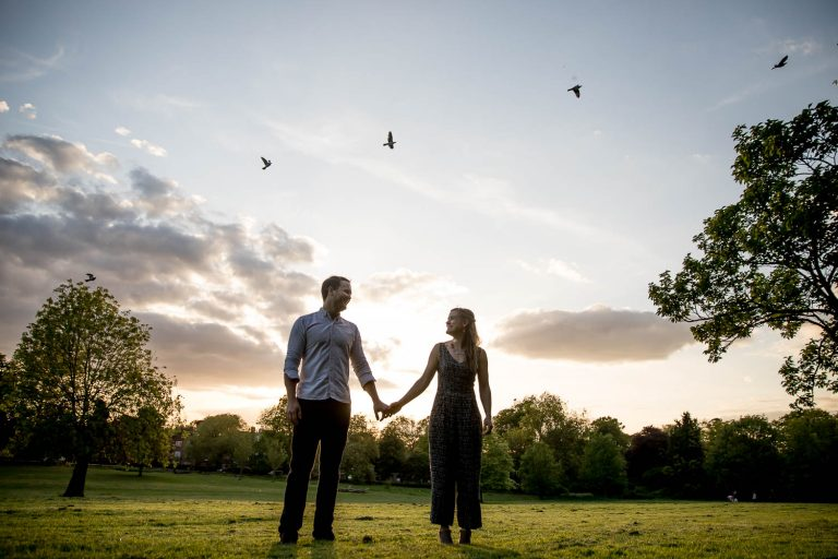 Peckham Rye Engagement Photography South London - Penny and Jere