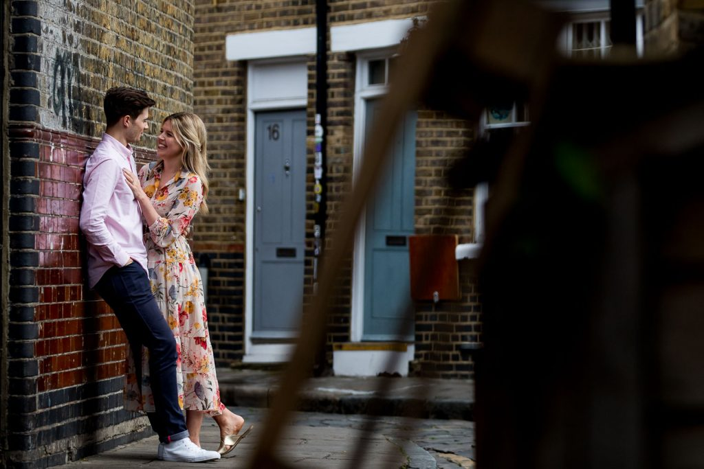 Natural Engagement Photographer Bethnal Green