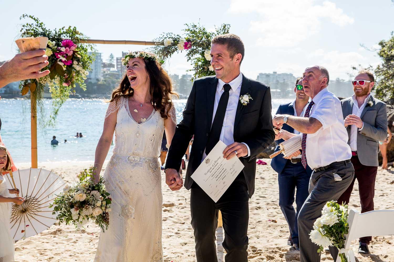 Amazing Shelly Beach Manly Sydney Wedding Photography Destinatio
