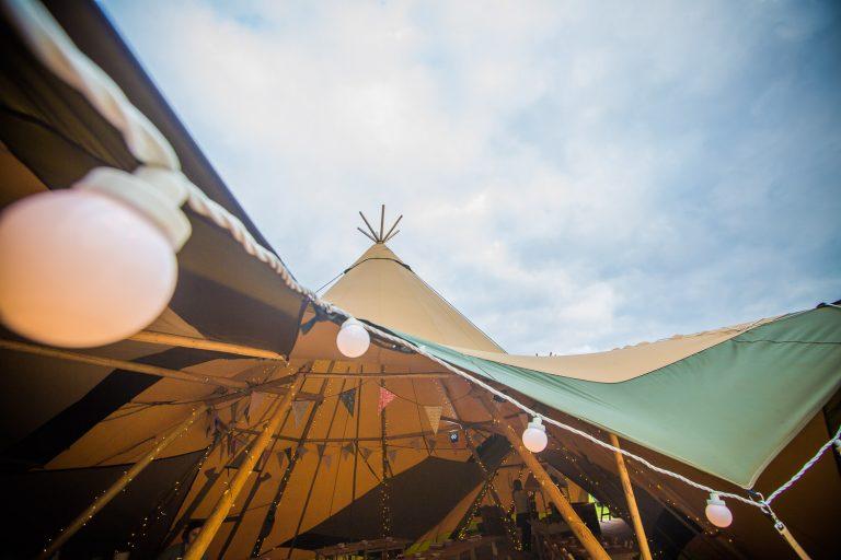 Sami Tipi Wedding Fair at Bridge House Barn Leicestershire - by Richard Murgatroyd Photography