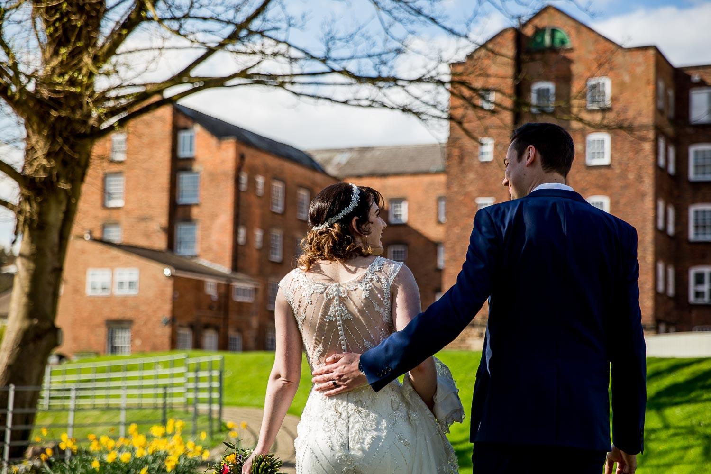 West Mill Darley Abbey Derby Wedding Photographer - Lizzie and Tim