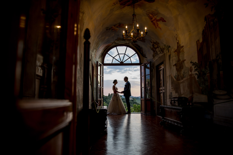 Villa Medicea di Lilliano Destination Wedding Photography Florence