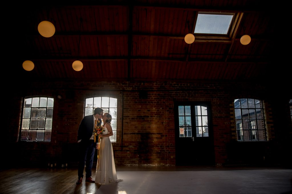 Loft Studios Wedding Photographer London - Ellie and Gareth